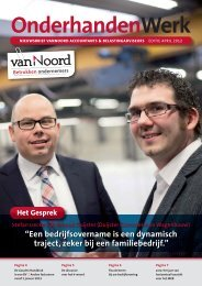 Nieuwsbrief april 2012 - Van Noord Accountants Belastingadviseurs