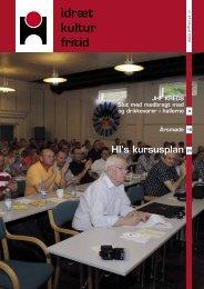 idræt kultur fritid - Halinspektørforeningen