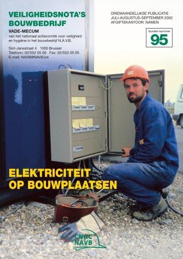 ELEKTRICITEIT OP BOUWPLAATSEN - FFC