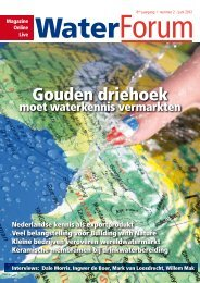 Gouden driehoek - Waterforum