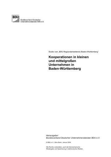 Brief neu - Bundesverband Deutscher Unternehmensberater BDU e.V.