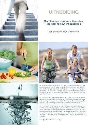 UITNODIGING - Vlaams Agentschap Zorg en Gezondheid