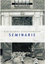 Untitled - Nederlands Gereformeerd Seminarie