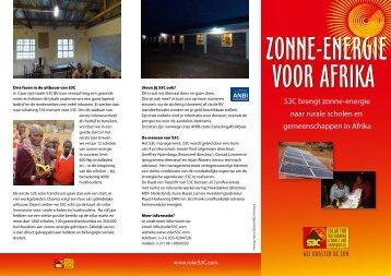 zonne-energie voor afrika zonne-energie voor afrika - S3C