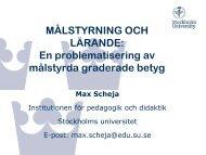en pedagogisk problematisering av målstyrda graderade betyg (pdf)