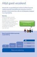 Wijzigingen in uw zorgverzekering - Meeus zorg - Page 2