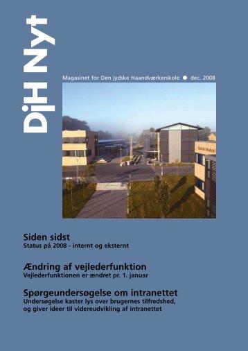DjH Nyt - Den jydske Haandværkerskole