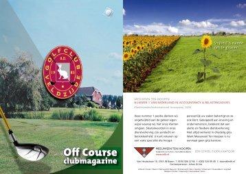 golf club indeling 2op.indd - Golfclub Veldzijde