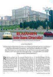 RUMÄNIEN – inte bara Dracula! - Nordisk Filateli