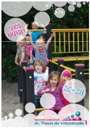 Schoolkalender - OBS Dr Theun de Vriesskoalle