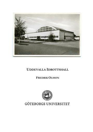 UDDEVALLA IDROTTSHALL
