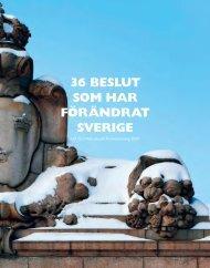 36 beslut som har förändrat sverige - LO-TCO Rättsskydd AB