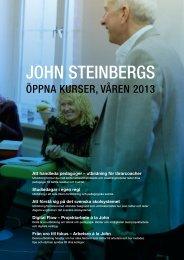 Ladda hem kursfolder med John Steinbergs kurser ... - JL Utbildning