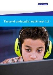 Passend onderwijs werkt met ict - Kennisnet