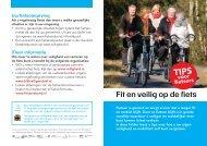 Fit en veilig op de fiets - Consument en Veiligheid