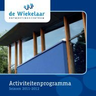 nieuwe programmaboekje