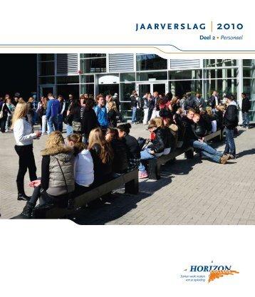 Jaarverslag 2010 deel 2 (Personeel) - Horizon College