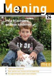Hele bijzondere gewone kinderen - MEE Zuidoost Brabant