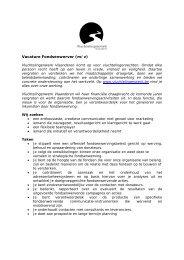 Fondsenwerver (m/v) - Vluchtelingenwerk Vlaanderen