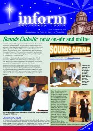 Inform 79.pdf - Catholic Diocese of Christchurch