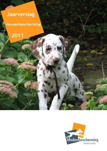 Jaarverslag 2011 Hondenbescherming (2,0 MB)