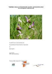 Tijdelijke natuur en beschermde soorten, een ecologische ...