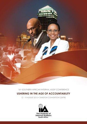 Registration Conference Brochure - IIA SA