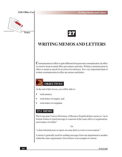 Example Of Memo Letter from img.yumpu.com