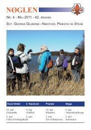 NØGLEN - Sct. Georgs Gilderne i Næstved