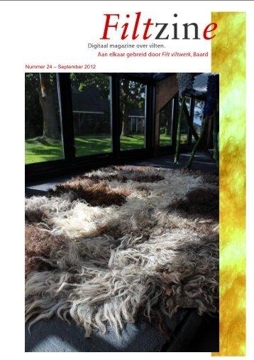 Nummer 24 – September 2012 - Home   Filt Viltwerk