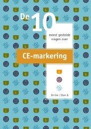 De 10 meest gestelde vragen over CE markering - Werken & Kaas