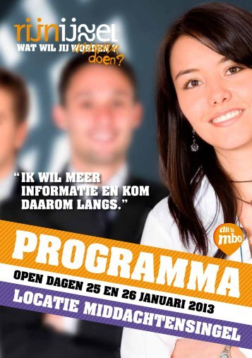 PROGRAMMA - Rijn IJssel