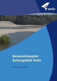 Nota van Zienswijzen - Gemeente Venlo
