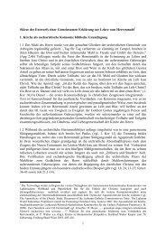 1 Skizze des Entwurfs einer Gemeinsamen ... - Evangelisch.de