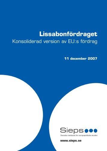Lissabonfördraget - Folkrörelsen Nej till EU