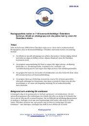 RP motion nr 07 Bilda arbetsgrupper inom skolan ... - Roslagspartiet