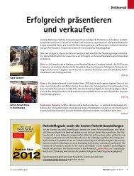 Erfolgreich präsentieren und verkaufen - beim SN-Fachpresse Verlag