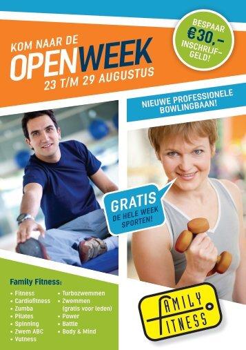 OPEN WEEK - Family Fitness