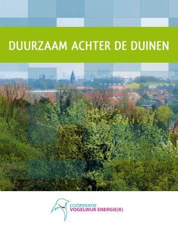 DUURZAAM AchteR De DUinen - Vogelwijk Energiek