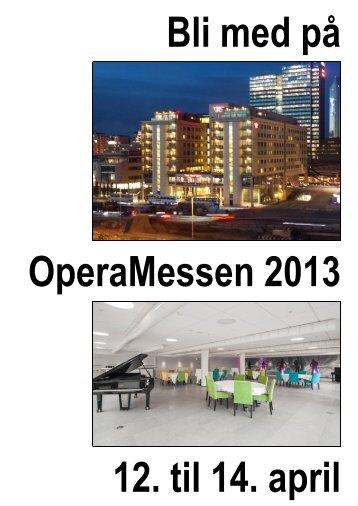 feiring på Hotel Thon Opera (vis á vis Operaen) - OperaNorge