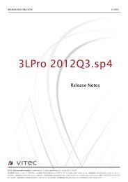 Version 2012.Q3 release notes servicepack 4 - 3L System AB