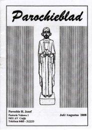 07 Juli - Augustus 2008 - Parochie Heilige Jozef