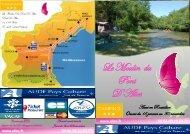 la Brochure du camping - Camping le Moulin du Pont d'Aliès