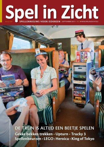 De trein is altijD een beetje spelen - Spel in Zicht