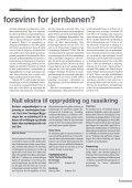 Null ekstra til opprydding og rassikring - For Jernbane - Page 7