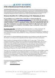 FÖR OMEDELBAR PUBLICERING - Techmedia