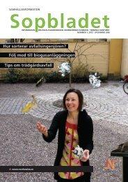 Sopbladet nummer 1, 2012 - Norrköpings kommun