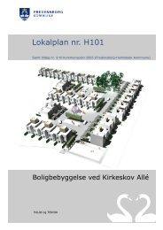 Lokalplan nr. H101 - Fredensborg Kommune