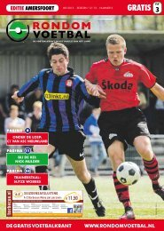 Seizoen 2012/2013 nummer 3 - Rondom Voetbal