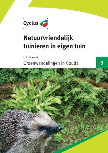 03 Natuurvriendelijk tuinieren - Cyclus NV